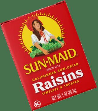 classic raisin box