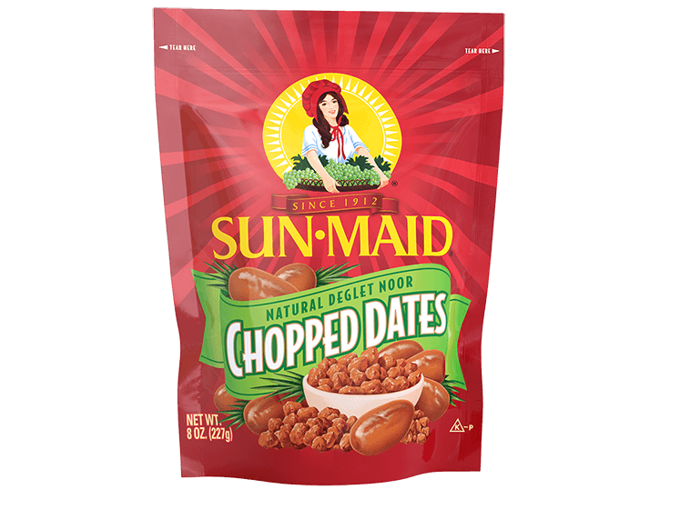 Sun-Maid Natural Deglet Noor Chopped Dates 8 oz. bag