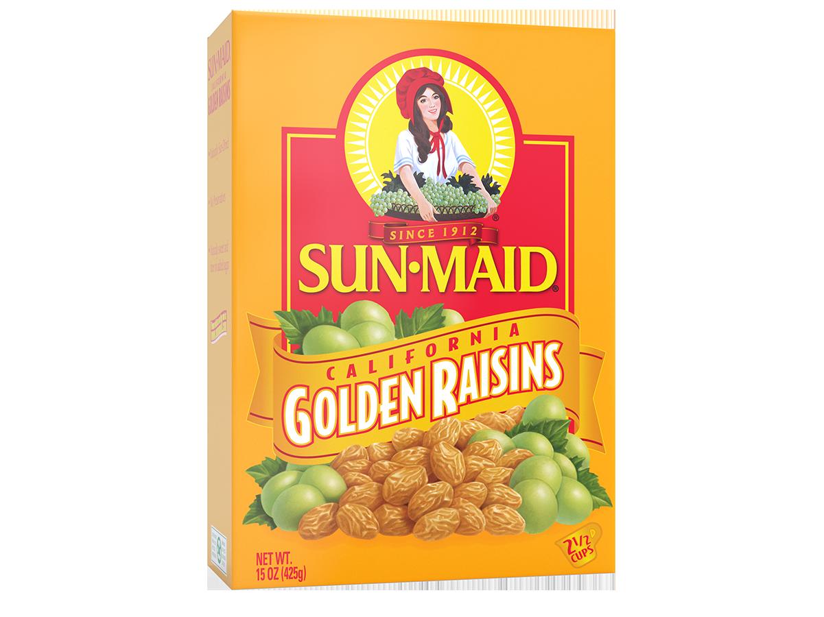 Sun-Maid California Golden Raisins 15 oz. box