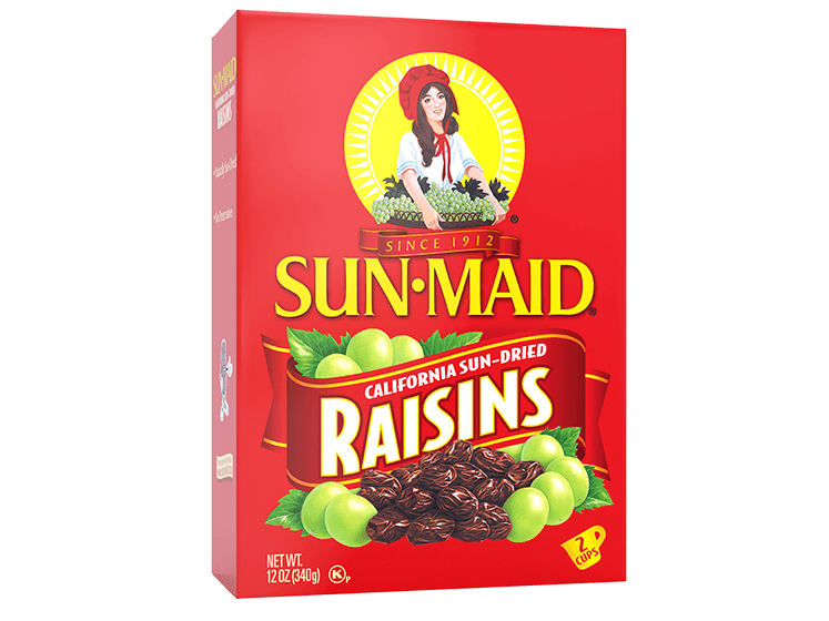 Sun-Maid California Sun-Dried Raisins 12 oz. box