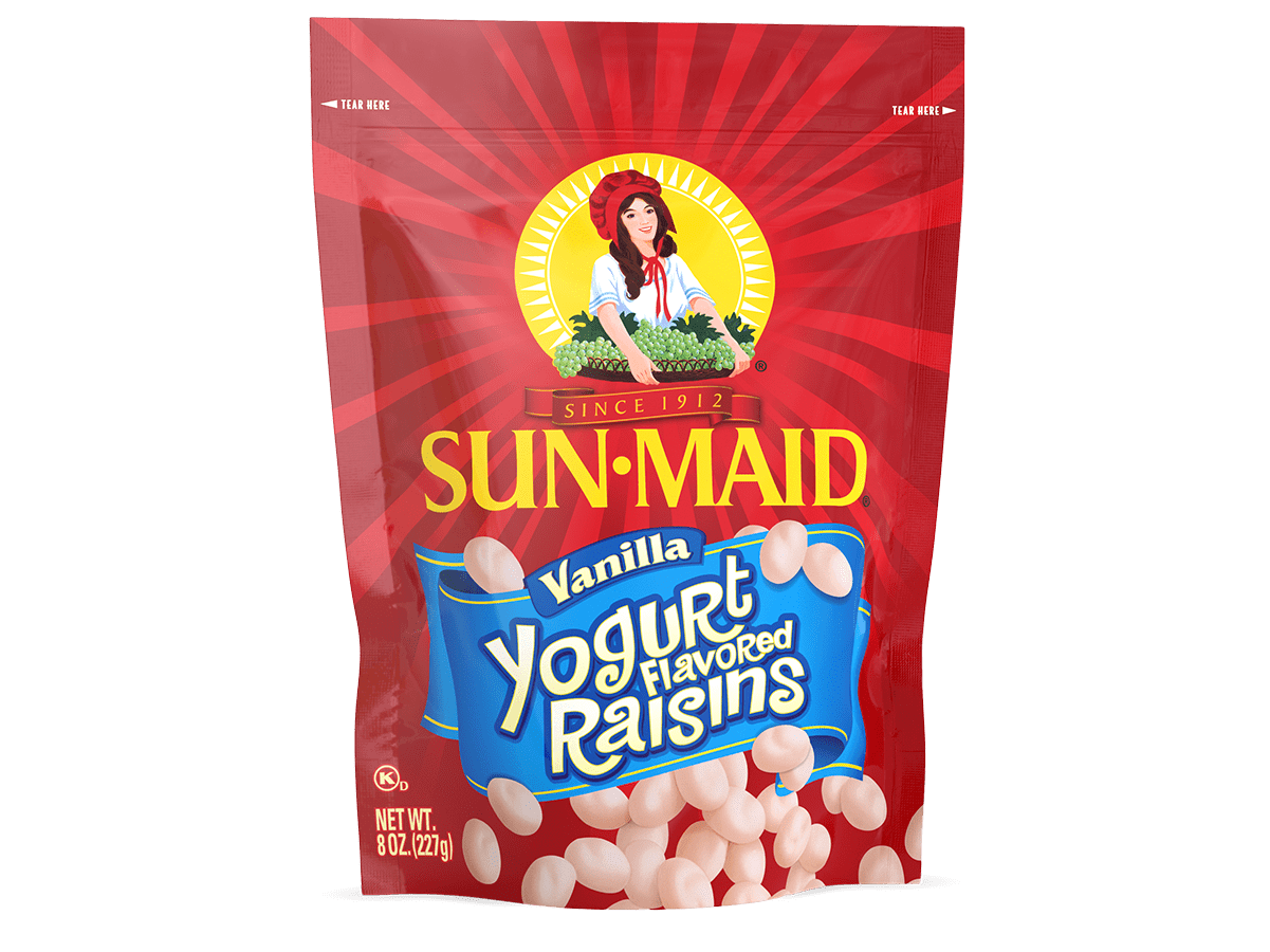Sun-Maid Vanilla Yogurt Flavored Raisins 8 oz. bag