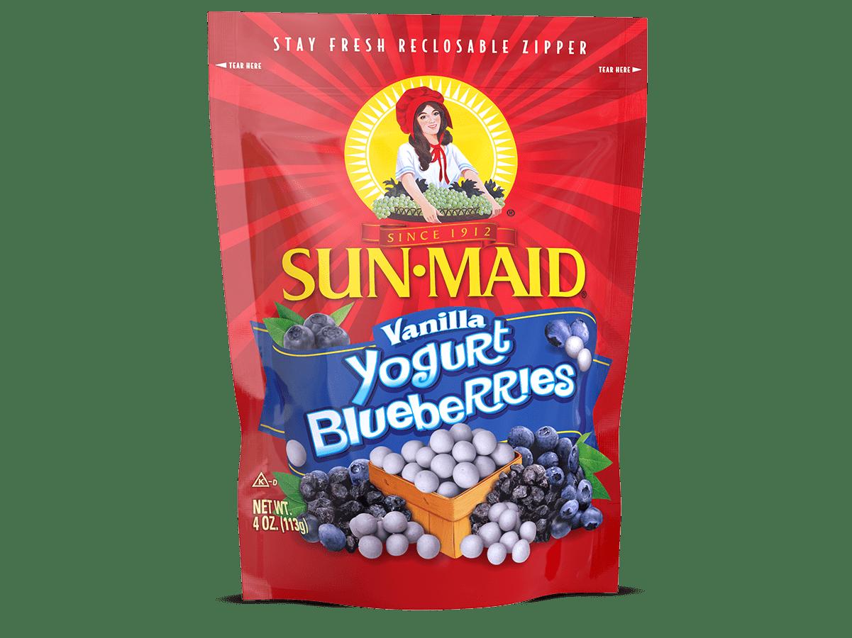 Sun-Maid Vanilla Yogurt Blueberries 4 oz. bag