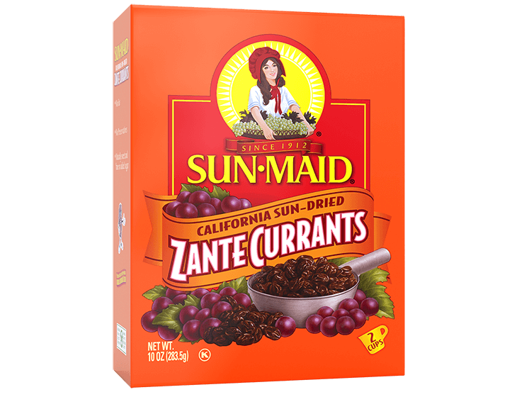 Sun-Maid California Sun-Dried Zante Currants 10 oz. box