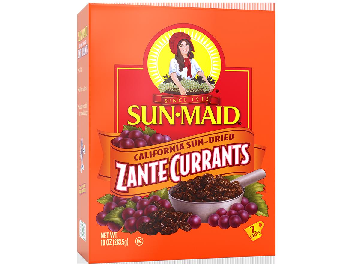 Sun-Maid California Sun-Dried Zante Currants 10 oz. box