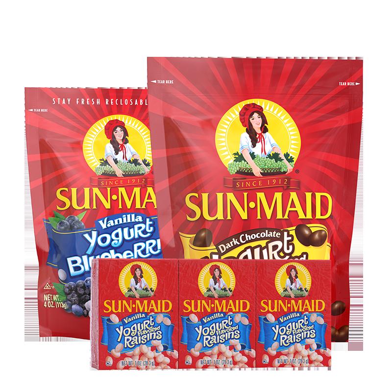 Yogurt Covered products lineup