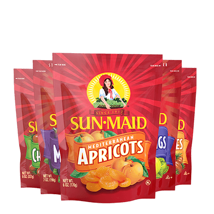 Dried Fruit products lineup