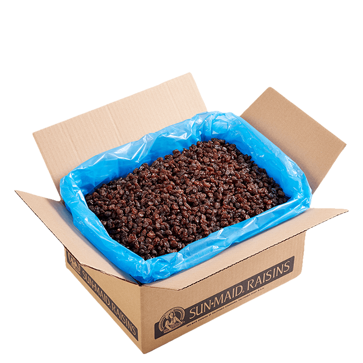 Sun-Maid California Sun-Dried Raisins 30 lb. bulk