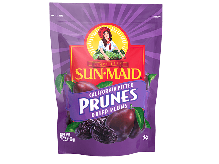 Sun-Maid California Pitted Prunes Dried Plums 7 oz. bag