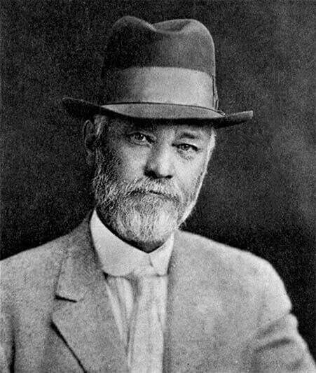 Black and white photo of H.H. Welsh