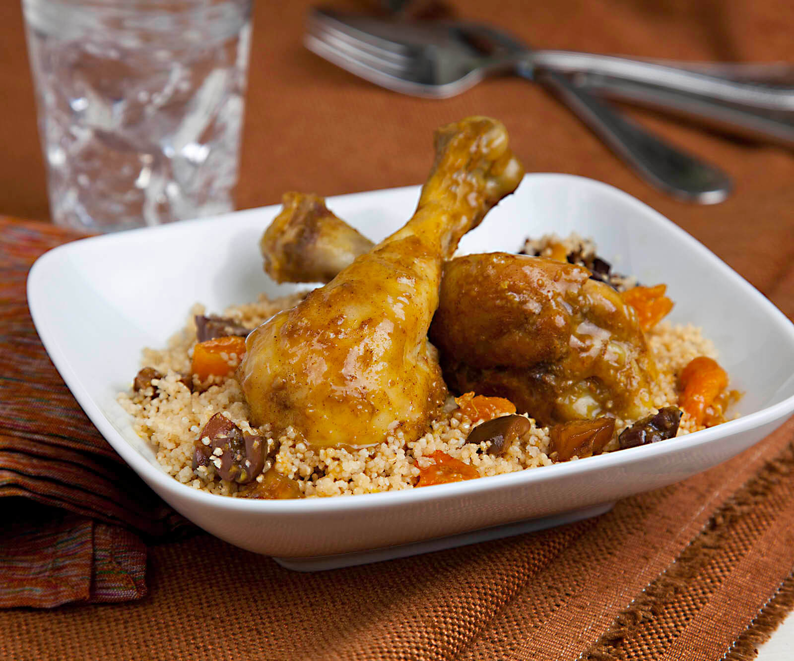 Chicken and Dried Fruit Tagine