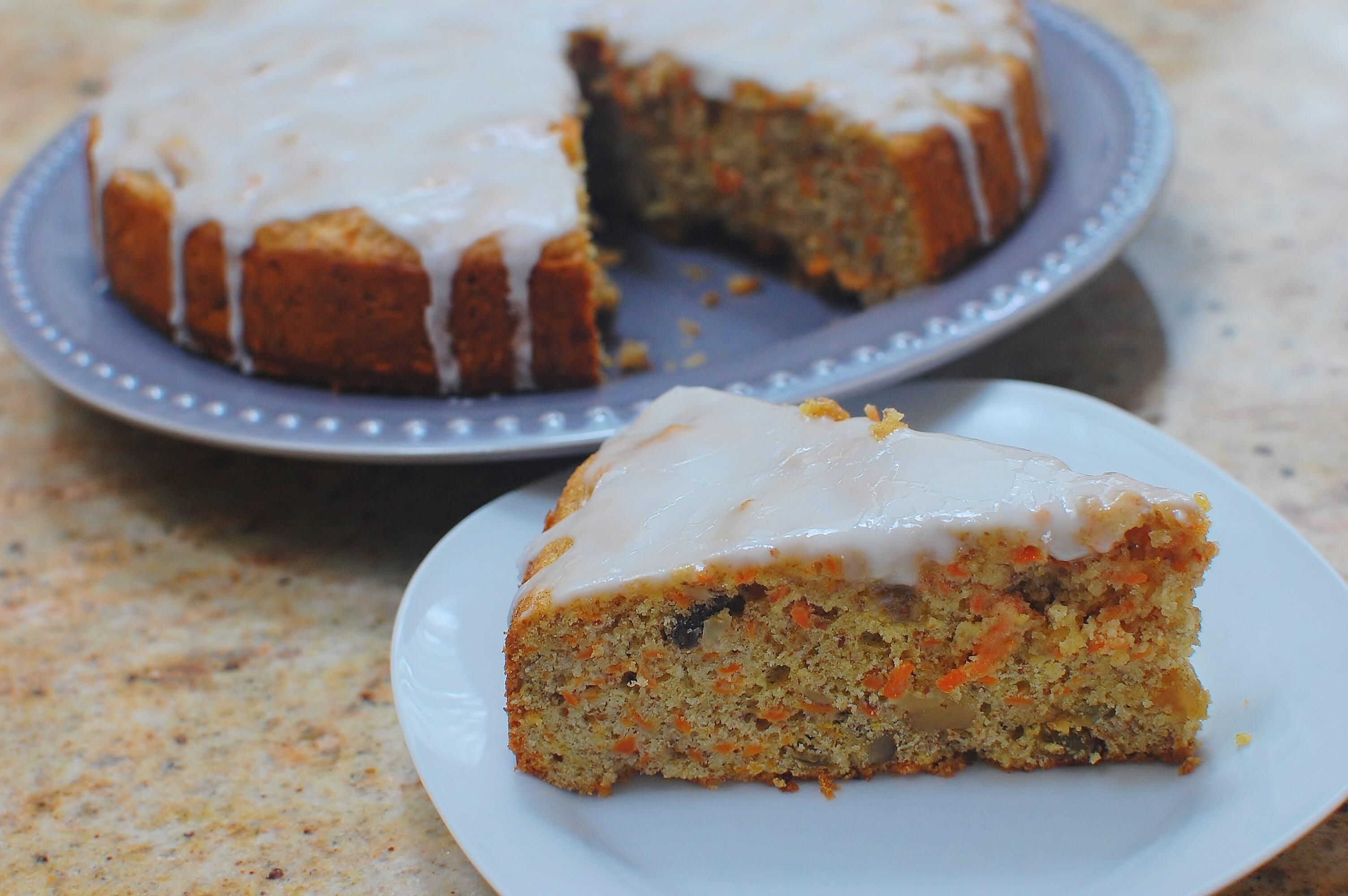 Carrot Cake-no added fat